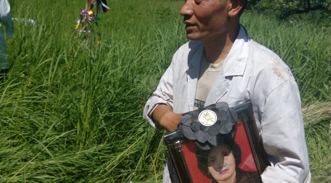 Funeral in a rural village in China 坡头村