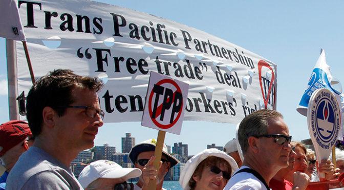 NAFTA, New Balance, TPP, and Trump